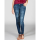 CELEBRITY PINK Tribal Fade Womens Skinny Jeans