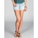 CELEBRITY PINK Ethnic Print Womens Denim Cutoff Shorts