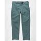 DICKIES 850 Slim Taper Flex Mens Dark Green Pants