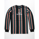 HUF Vert Knit Stripe Mens T-Shirt