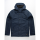 HURLEY Slammer Navy Mens Hooded Jacket