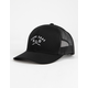 DARK SEAS Murre Black Mens Trucker Hat