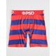 PSD Red & Blue Stripes Mens Boxer Briefs