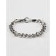 BLUE CROWN Chain Silver Bracelet