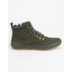KEDS Scout Water-Resistant Olive Womens Boots