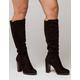 WILD DIVA Knee High Womens Heeled Boots