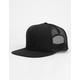 RVCA Sphere Black Mens Trucker Hat
