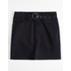 CELEBRITY PINK Self Belt Denim Girls Mini Skirt