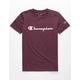 CHAMPION Heritage Purple Boys T-Shirt