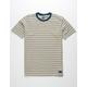 BILLABONG Die Cut Stripe Bone Boys T-Shirt