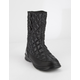 THE NORTH FACE Thermoball Button-Up Black Womens Boots