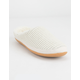 TOMS Sweater Knit Natural Womens Mule Slippers