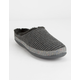 TOMS Sweater Knit Gray Womens Mule Slippers