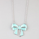 FULL TILT Bow Pendant Necklace