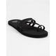 REEF Bliss Moon Black Womens Sandals