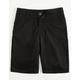 VOLCOM Frickin Static Boys Midnight Black Hybrid Shorts