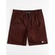 LIRA Forever Volley 2.0 Burgundy Mens Volley Shorts