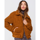 LIRA Womens Teddy Jacket