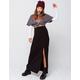 SKY AND SPARROW Womens Maxi Skirt