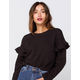 AMUSE SOCIETY Dela Rose Womens Sweater