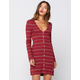 AMUSE SOCIETY Baciami Womens Dress