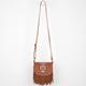 Owl Fringe Crossbody Bag
