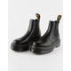 DR. MARTENS 2976 Quad Platform Black Womens Chelsea Boots