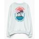VOLCOM Darting Traffic Girls Crew Sweatshirt