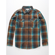 VISSLA Central Mens Flannel Shirt