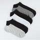 6 Pack Womens Ankle Socks