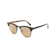 RAY-BAN Clubmaster Color Mix Tortoise & Gray Sunglasses