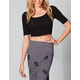 FULL TILT Womens Fitted Crop Top