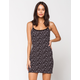 IVY & MAIN Ditsy Floral Lace Womens Bodycon Dress