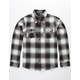 SHOUTHOUSE Del Ray Boys Flannel Shirt