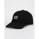 VANS Court Side Black Womens Strapback Hat