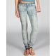 VANILLA STAR Batik Womens Skinny Jeans