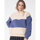 FILA Laverne Quarter Zip Womens Sherpa Jacket
