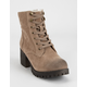 BILLABONG Wild Thing Tan Womens Lug Boot