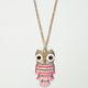 FULL TILT Owl Charm Necklace