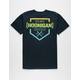 HOONIGAN Bracket Navy Mens T-Shirt