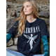 NIRVANA Nirvana Angel Womens Tee