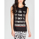 LORDS OF LIVERPOOL Lucy Diamonds Womens Muscle Tee