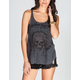 FULL TILT Chief Skull Womens Hachi Knit Tank