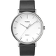 TIMEX Fairfield Leather 41mm Black & White Watch
