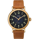 TIMEX Standard Leather 40mm Tan & Navy Watch