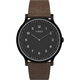 TIMEX Norway Leather 40mm Black & Brown Watch