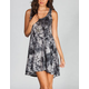 FULL TILT Tie Dye Baby Doll Dress