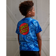 SANTA CRUZ Classic Dot Blue Boys T-Shirt
