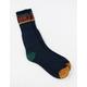 BRIXTON Wood Stock Blue Mens Socks