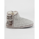 MUK LUKS Leigh Nordic Womens Bootie Slippers